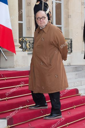 French journalist and director Serge Moati