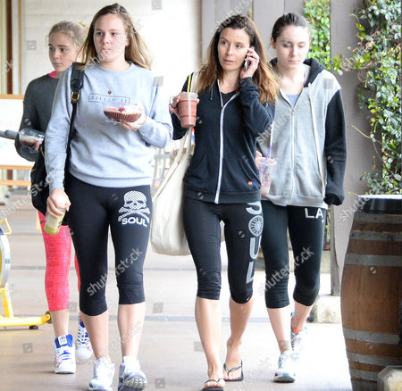 Editorial image of Tana Ramsay and daughters out and about, Los Angeles, America - 07 Apr 2015