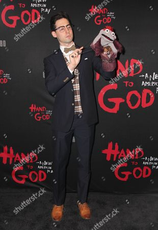 Editorial photo of 'Hand to God' play opening night, New York, America - 07 Apr 2015