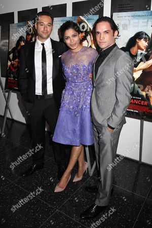 Richard Raymond (Director), Freida Pinto and Reece Ritchie