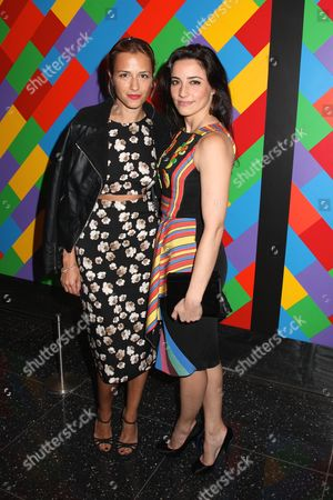 Charlotte Ronson and Shoshanna Lonstein Gruss