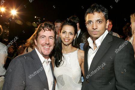 Sam Mercer, Bhavna Shyamalan & M. Night Shyamalan