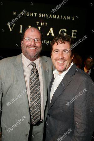 Stock Image of Scott Rudin and Sam Mercer