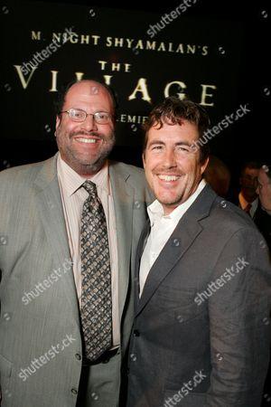 Stock Photo of Scott Rudin and Sam Mercer