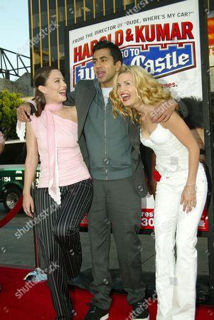Kate Kelton, Kal Penn and Brooke D'Orsay