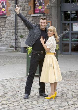 Jonathan Wilkes and Hayley Evetts
