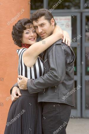 Mary Doherty and Robbie Scotcher