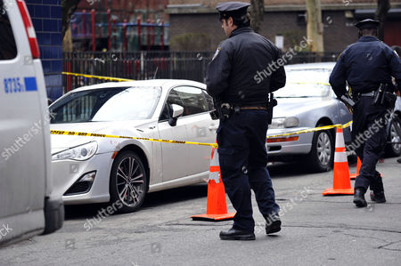 Editorial photo of Chris Copeland stabbed outside nightclub, New York, America - 08 Apr 2015