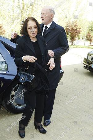 King Simeon II Borisov Sakskoburggotski and Margarita Gomez-Acebo