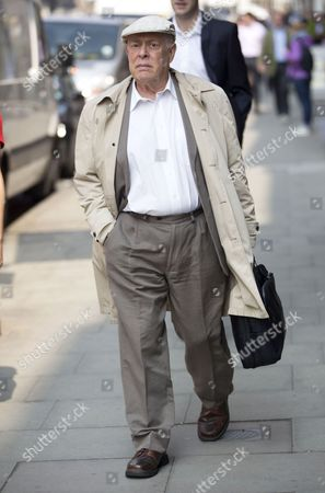 Editorial image of Clive Swift out and about, London, Britain - 08 Apr 2015