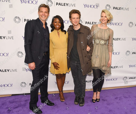 Editorial image of Paley Center presents an evening with the cast of 'Justified', Los Angeles, America - 08 Apr 2015