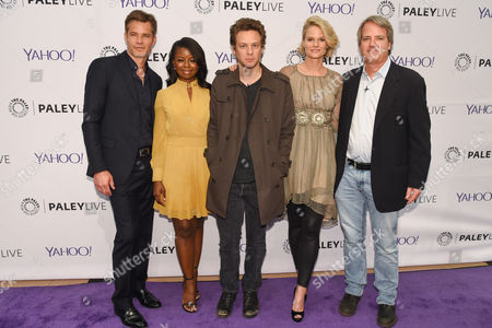 Timothy Olyphant, Erica Tazel, Jacob Pitts, Joelle Carter and Graham Yost