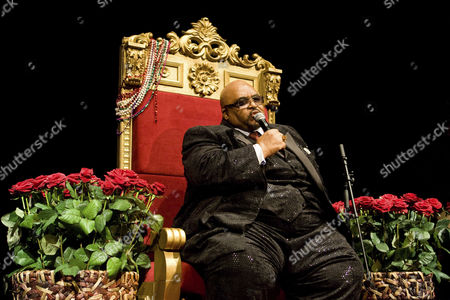The US Soul, Rhythm and Blues singer Solomon Burke live in the hall of the Lucerne KKL in Lucerne, Switzerland, Europe