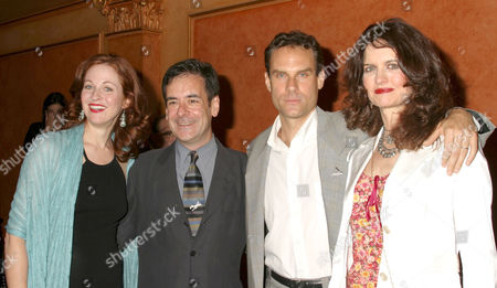 Candy Buckley, Mark Nelson, Jonathan Walker and Lisa Louttit