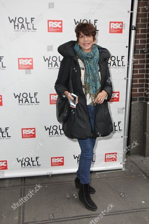 Editorial picture of 'Wolf Hall: Parts One and Two' play opening night, New York, America - 09 Apr 2015
