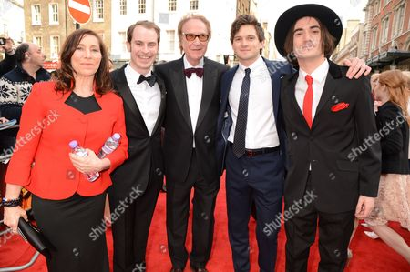 Stock Picture of Adam Sopp, Ray Davies, Ned Derrington and George Maguire