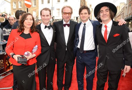 Editorial image of The Olivier Awards, Royal Opera House, London, Britain - 12 Apr 2015