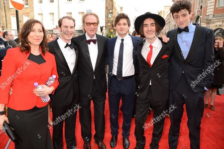 Adam Sopp, Ray Davies, Ned Derrington, George Maguire and John Dagleish
