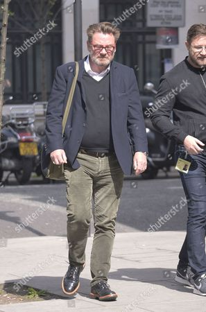 Editorial image of Chas Smash out and about, London, Britain - 10 Apr 2015