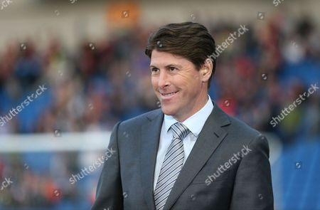 Darren Anderton during the Sky Bet Championship match between Brighton and Hove Albion and Bournemouth at the American Express Community Stadium, Brighton and Hove