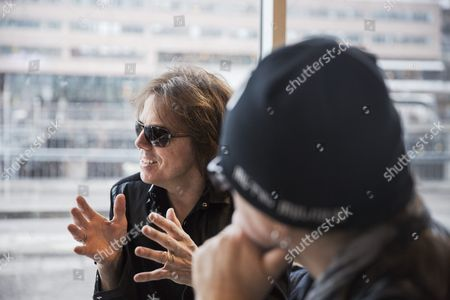 Joey Tempest and John Leven