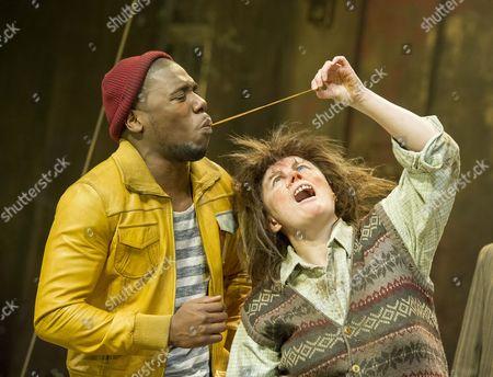 Dwane Walcott as Handsome Waltzer Boy, Monica Dolan as Mrs Twit