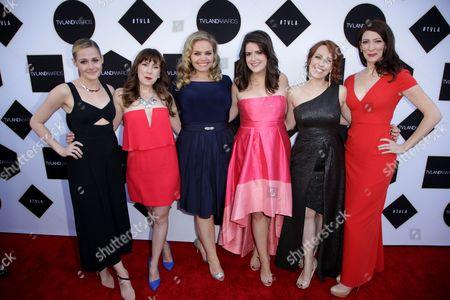 Katie O'Brien, Caitlin Barlow, Katy Colloton, Cate Freedman, Kat