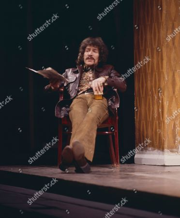 Stock Picture of Peter Wyngarde