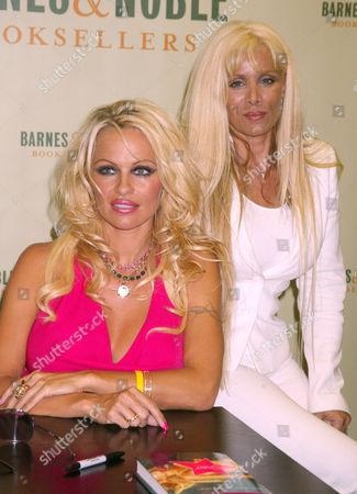 Pamela Anderson and Victoria Gotti