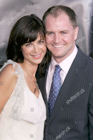 Stock Picture of Catherine Bell and Adam Beason