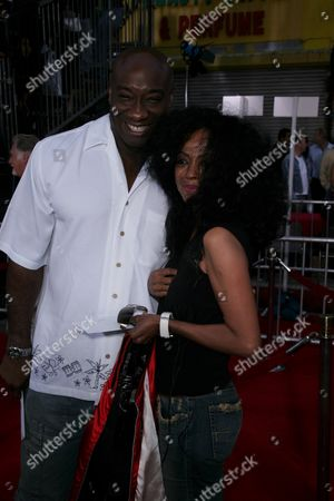 Michael Clark Duncan and Diana Ross