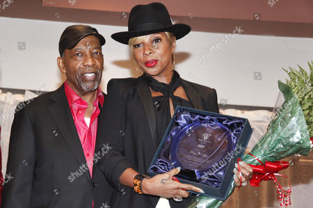Leon Huff and Mary J Blige