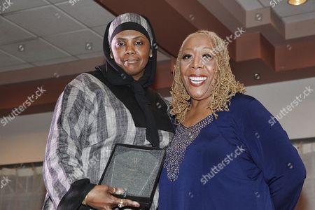 Stock Photo of Movita Johnson Harrell and Patty Jackson