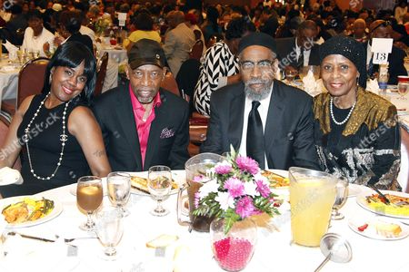 Mr and Mrs Leon Huff and Mr and Mrs Kenny Gamble