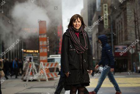 Editorial photo of Judith Miller photo shoot, New York, America - 09 Apr 2015
