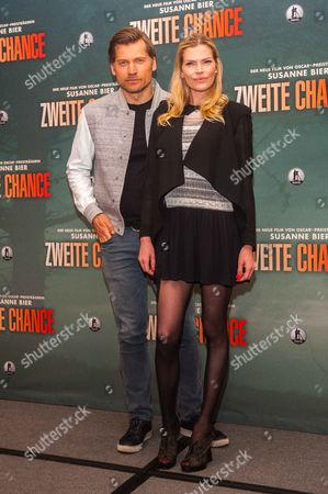 Nikolaj Coster-Waldau and May Anderson