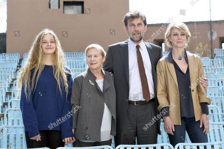 Beatrice Mancini, Giulia Lazzarini, Nanni Moretti, Margherita Buy