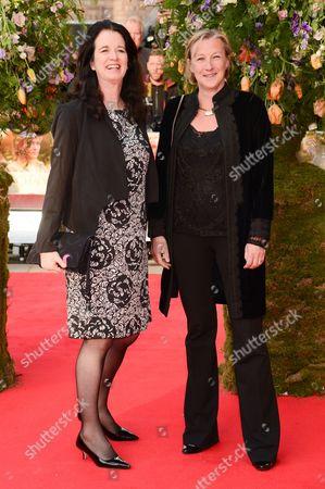 Andrea Calderwood and Gail Egan