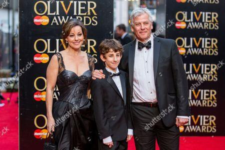 Stock Photo of Ruthie Henshall, Ollie Jochim & Deka Walmsley