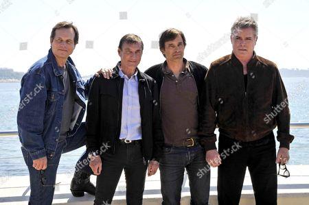 Bill Paxton, Roland Joffe, Olivier Martinez and Ray Liotta