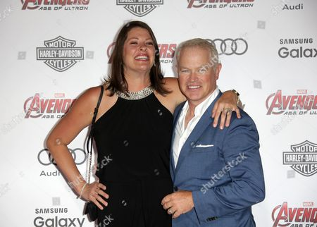 Stock Photo of Neal McDonough and wife Ruve Robertson