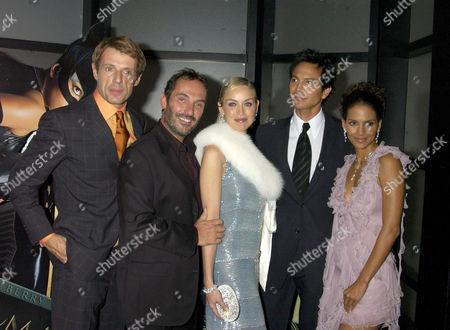 Lambert Wilson, Pitof, Sharon Stone, Benjamin Bratt and Halle Berry