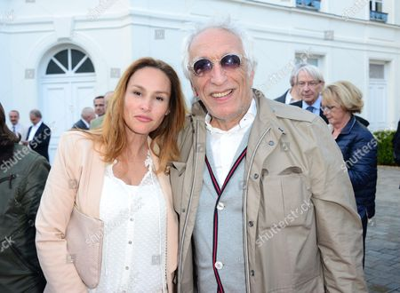 Vanessa Demouy and Gerard Darmon