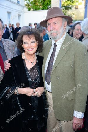 Claudia Cardinale and Jean-Pierre Marielle