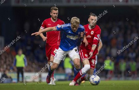 Stock Photo of Jonny Parr in action vs cardiff city