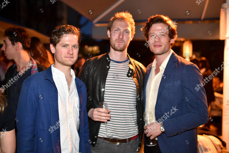 Kyle Soller, Sam Hoare and James Norton