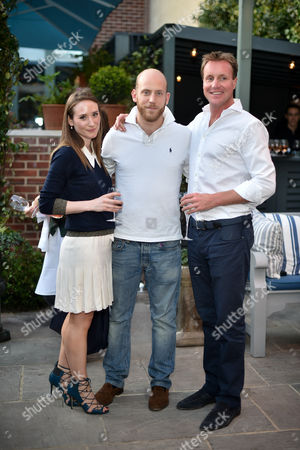 Stock Photo of Alexa Edwards, Carlo Carello, Henry Beckwith
