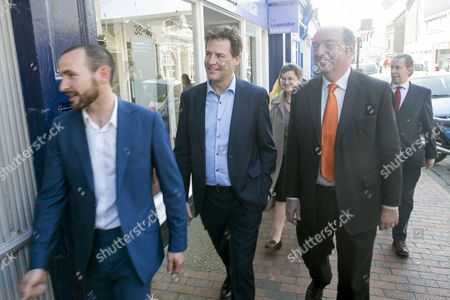 Editorial photo of Liberal Democrat party general election campaigning, Seaford, Britain - 14 Apr 2015