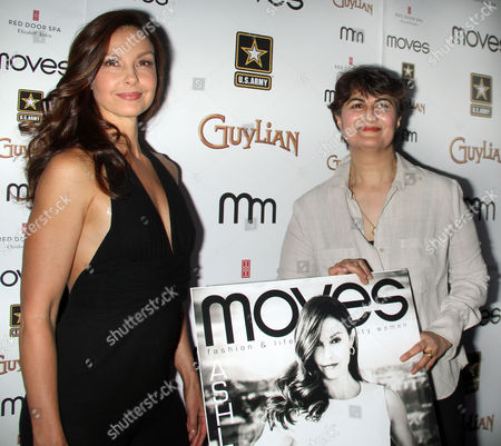 Stock Picture of Ashley Judd and Moonah Ellison