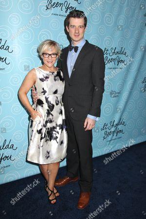 Rachael Harris and Christian Hebel